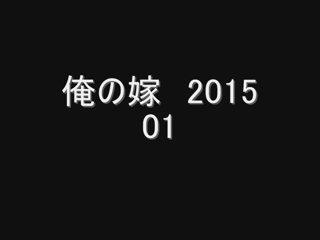 [個人撮影]俺の嫁 2015 -01-