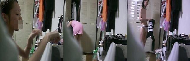 【18歳のイ●●ト】ボクのオウチ、、、部屋での着替え。。。