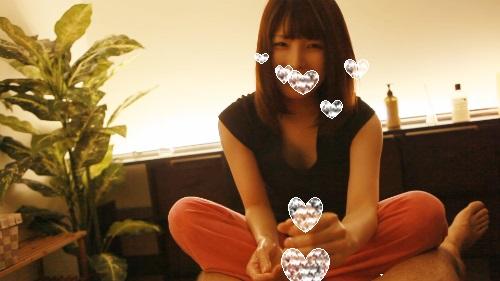 【マッサージ】プレミアムなエロカワ美人がエロい顔してちんこマッサージ+ふぇら!!