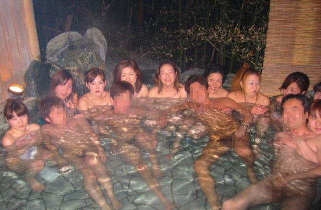 温泉混浴ツアーVOL1☆大人のサークル千夜一夜