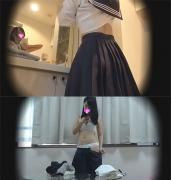 ☆K(○5歳)妹の娘  着替えを盗撮 入学したての体を隠し撮り