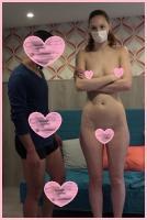 【最新作】美裸体長身ロシア娘(24)は数○○師!!『チンチンキモチヨカッタ♪』【個人撮影】